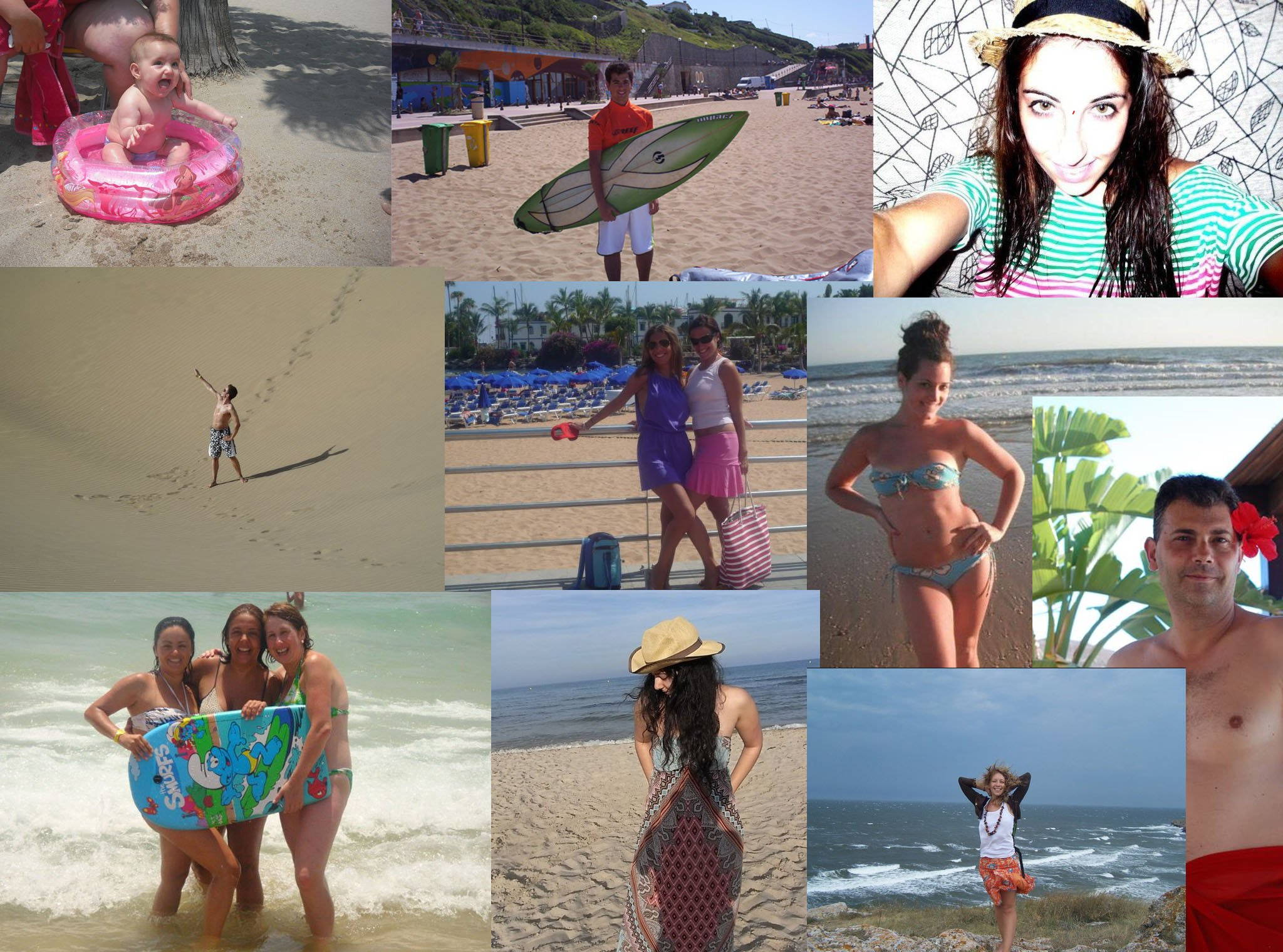 Ganadores look playero